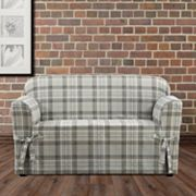 Sure Fit Highland Plaid Loveseat Slipcover