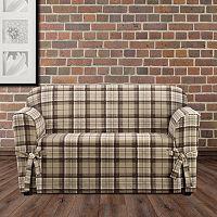Sure Fit Highland Plaid Sofa Slipcover