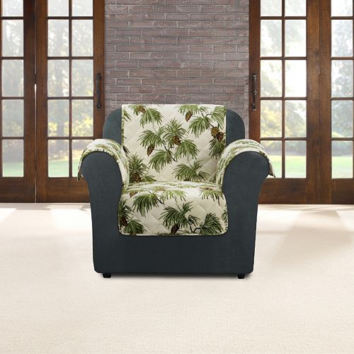 Sure Fit Flair Pinecone Chair Slipcover