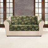Sure Fit Flair Pinecone Loveseat Slipcover