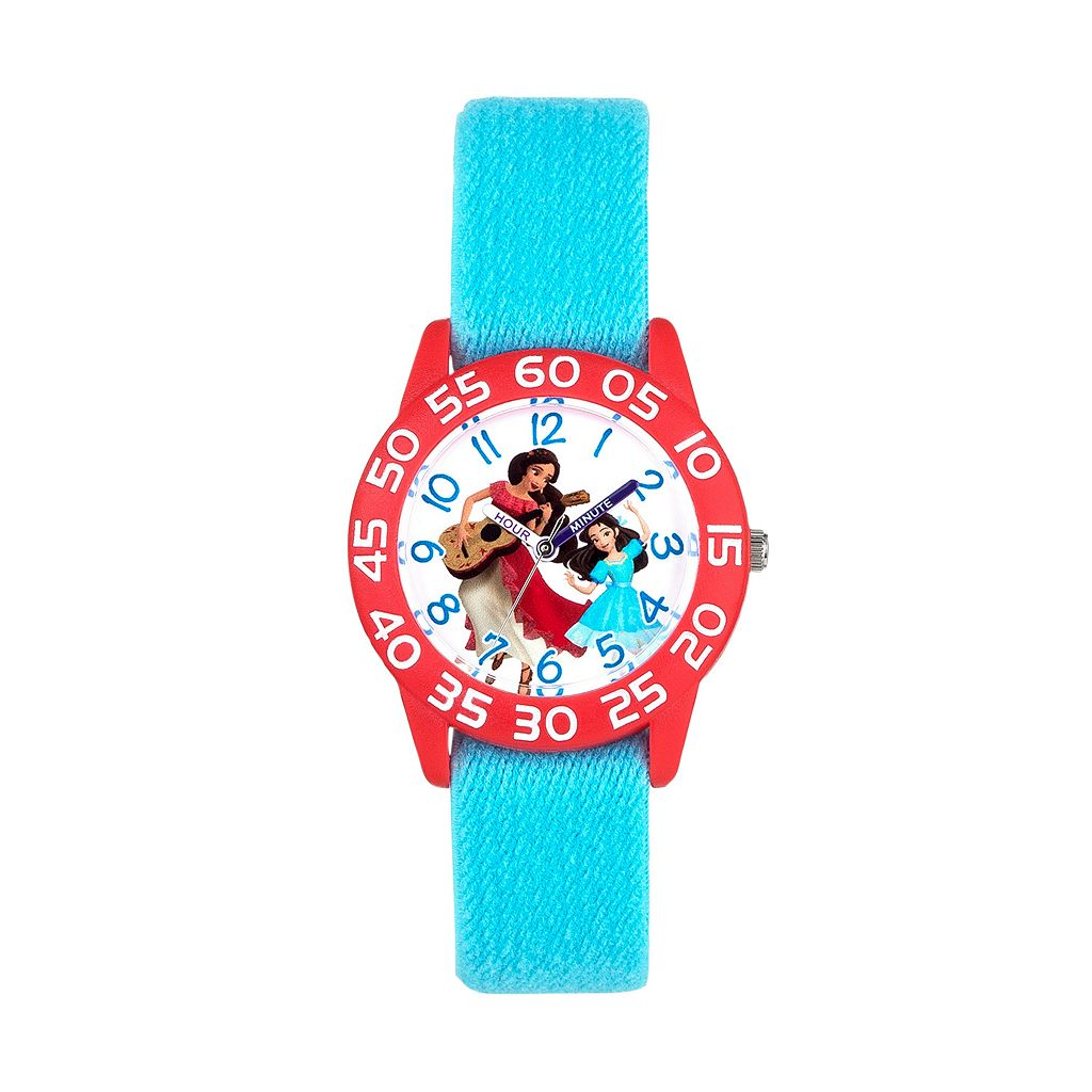 Disney's Elena of Avalor Kids' Reversible Time Teacher Watch