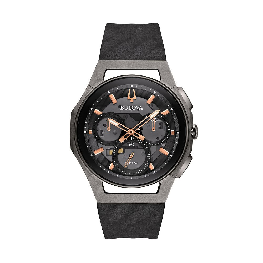 c596168d8 Bulova Men's CURV Titanium Chronograph Watch - 98A162