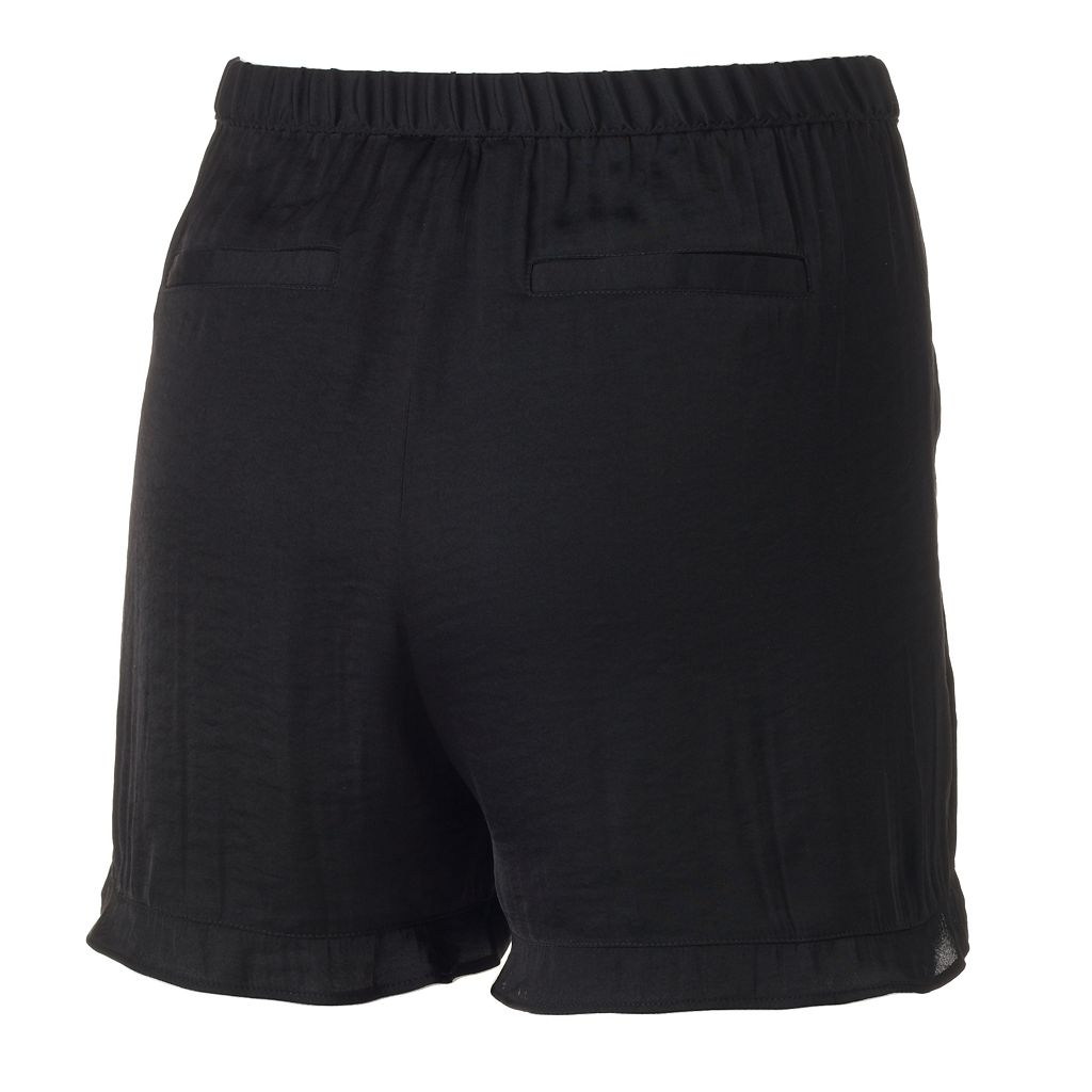 Women's Juicy Couture Ruffle Soft Shorts