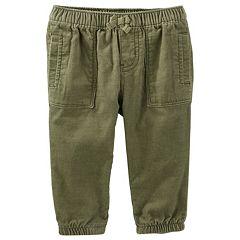 Baby Girl OshKosh B'gosh® Pull-On Corduroy Jogger Pants