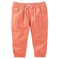 Baby Girl OshKosh B'gosh® Pull-On Corduroy Jogger Pants