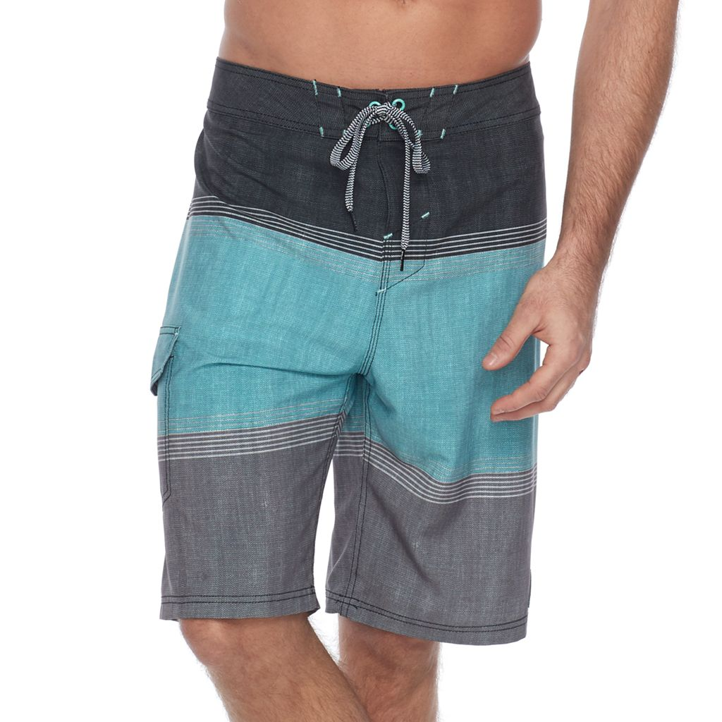 Men's Trinity Collective Selvage Colorblock Stretch Board Shorts