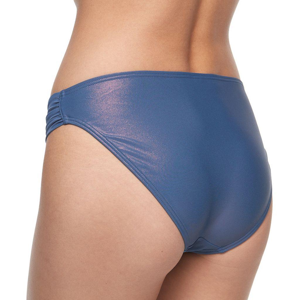 Mix and Match Shimmer Hipster Bikini Bottoms
