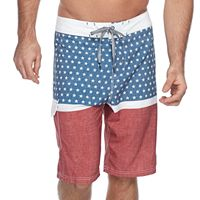 Men's Trinity Collective Bandelier Colorblock Stretch Board Shorts