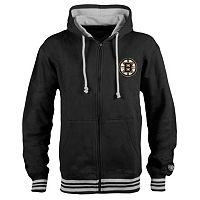 Men's Old Time Hockey Boston Bruins Axton Fleece Hoodie