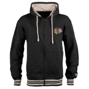 Men's Old Time Hockey Chicago Blackhawks Axton Fleece Hoodie