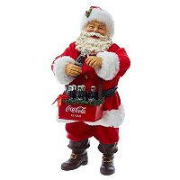 Coca-Cola Santa Christmas Table Decor by Kurt Adler