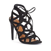 Candie's® Women's Lace-Up High Heels