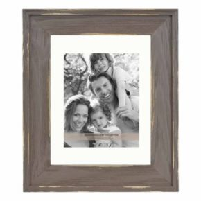 "Fashion Gallery Collection Distressed Brown 8"" x 10"" Frame"