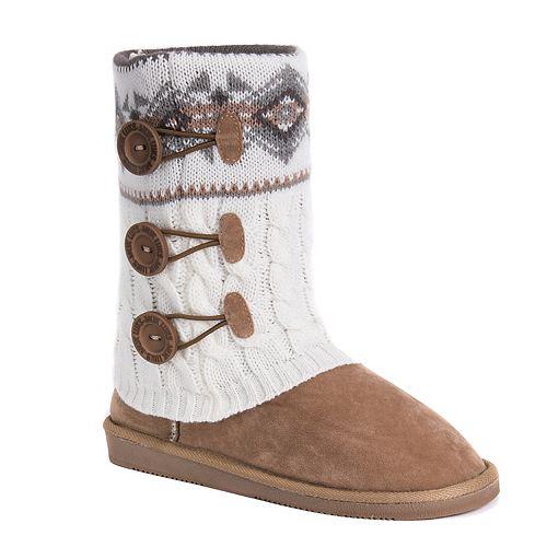 55cb0f1f3c8b8c MUK LUKS Cheryl Women s Water-Resistant Boots