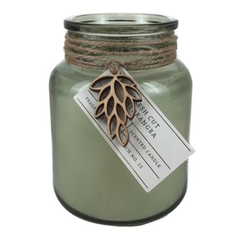 Hawkwood Fresh Cut Hydrangea 13.77-oz. Candle Jar