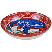 Certified International Retro Christmas Pasta Serving Bowl