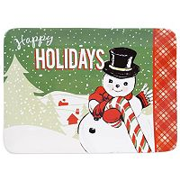 Certified International Retro Christmas Rectangular Platter