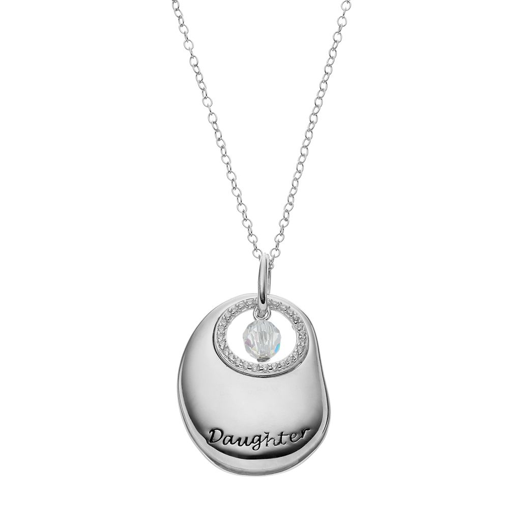 Sentimental Expressions Sterling Silver Cubic Zirconia