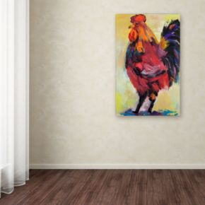 "Trademark Fine Art ""In Command"" Canvas Wall Art"
