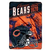 Chicago Bears Stagger Microfleece Oversized Throw by Northwest