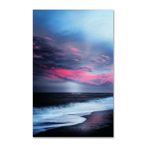 """Trademark Fine Art """"Salt Water Sound"""" Canvas Wall Art"""
