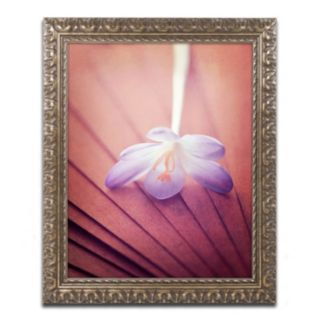 "Trademark Fine Art ""Access to Desires"" Ornate Framed Wall Art"