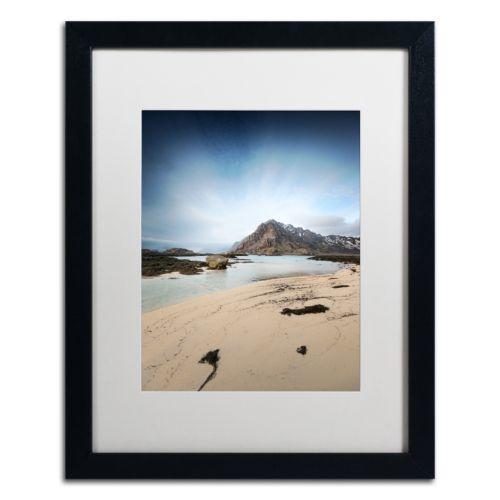 """Trademark Fine Art """"The Little Things"""" Black Framed Wall Art"""