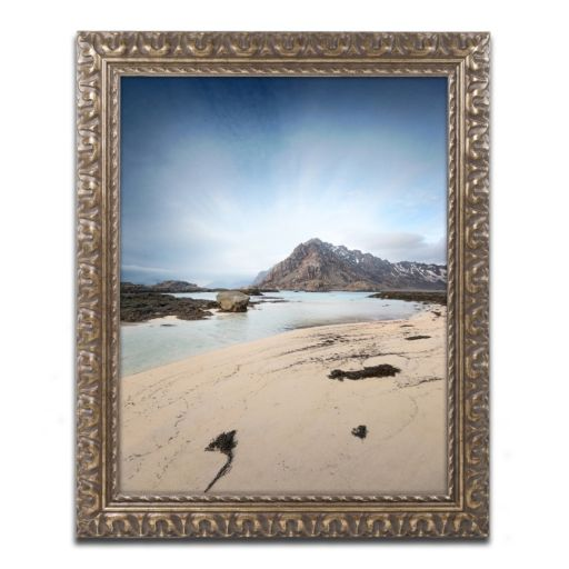 "Trademark Fine Art ""The Little Things"" Ornate Framed Wall Art"