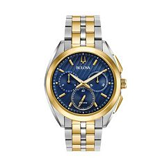 Bulova Men's CURV Stainless Steel Chronograph Watch