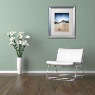 "Trademark Fine Art ""The Little Things"" Silver Finish Framed Wall Art"
