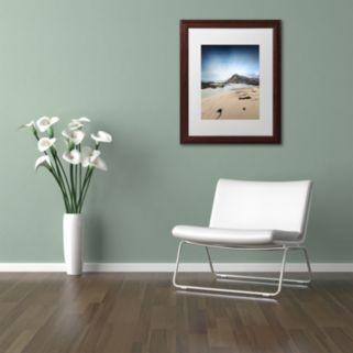"Trademark Fine Art ""The Little Things"" Wood Finish Framed Wall Art"