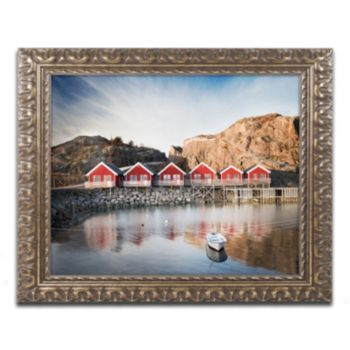 "Trademark Fine Art ""The Magic Number"" Ornate Framed Wall Art"