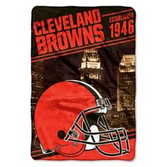 Cleveland Browns Stagger Microfleece Oversized Throw by Northwest