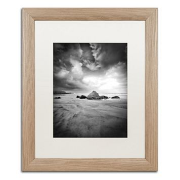 Trademark Fine Art World In Change Light Finish Framed Wall Art