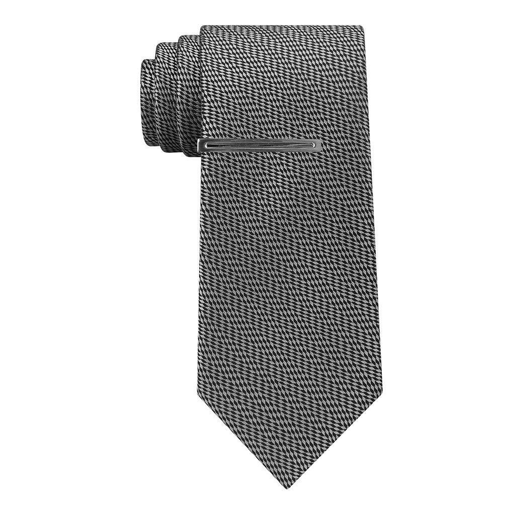 Men's Van Heusen Star Skinny Tie with Tie Bar