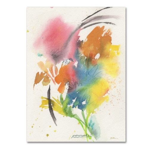 Trademark Fine Art Rainbow Bouquet Canvas Wall Art