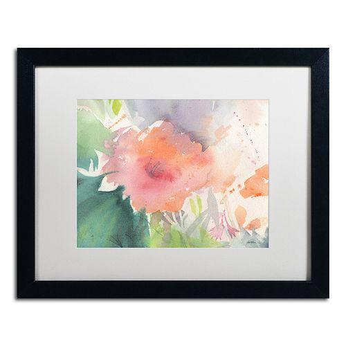 Trademark Fine Art Coral Blossom Framed Wall Art