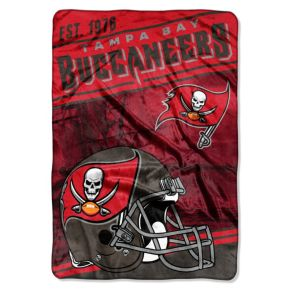 Tampa Bay Buccaneers Stagger Microfleece Oversized Throw by Northwest