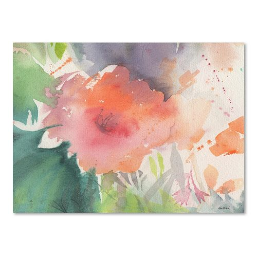 Trademark Fine Art Coral Blossom Canvas Wall Art