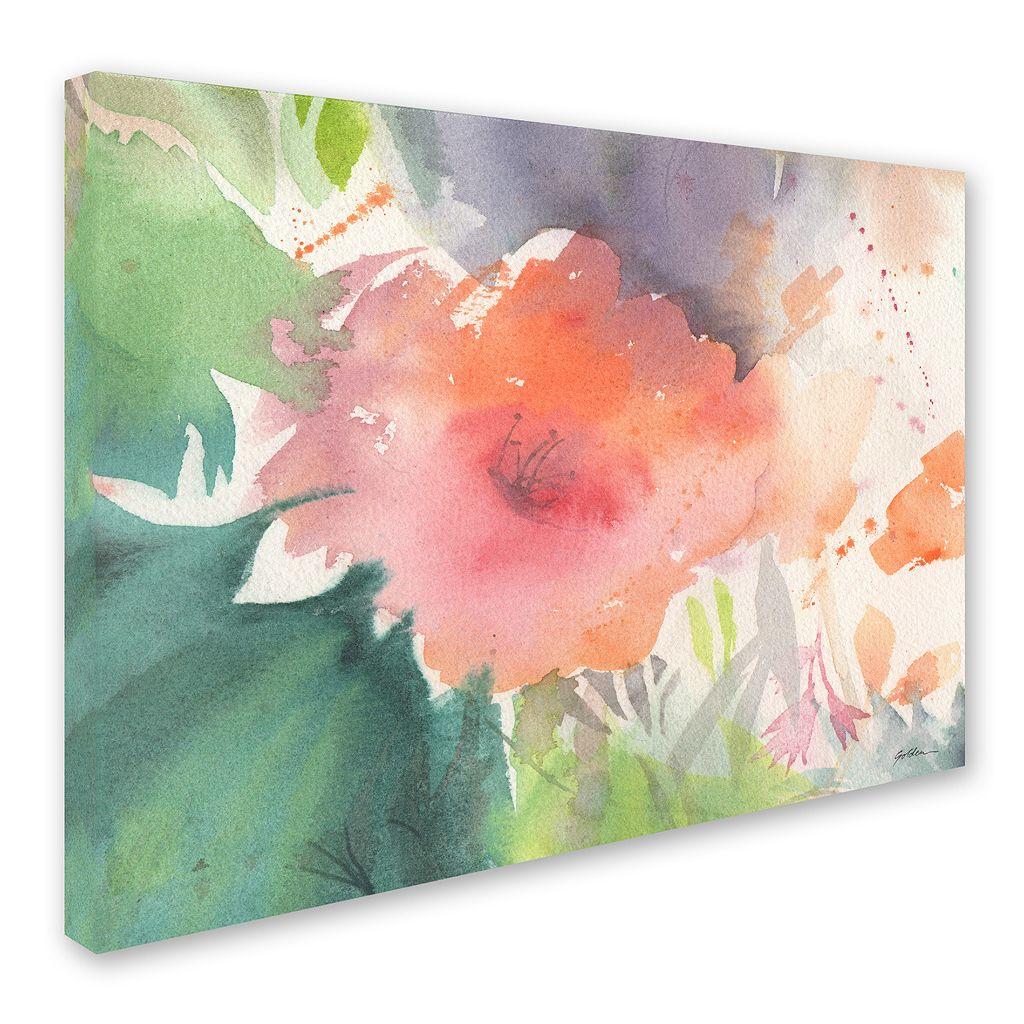 Trademark Fine Art Coral Blossom Canvas Wall Art