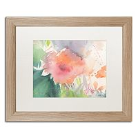 Trademark Fine Art Coral Blossom Light Finish Framed Wall Art