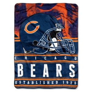 Chicago Bears Stacked Silk-Touch Throw by Northwest
