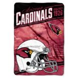 Arizona Cardinals Stagger Microfleece Oversized Throw by Northwest