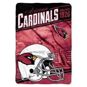 Arizona Cardinals Stagger Microfleece Oversized Throw by Northwest