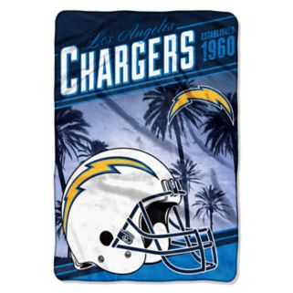 San DiegoChargers Stagger Microfleece Oversized Throw by Northwest