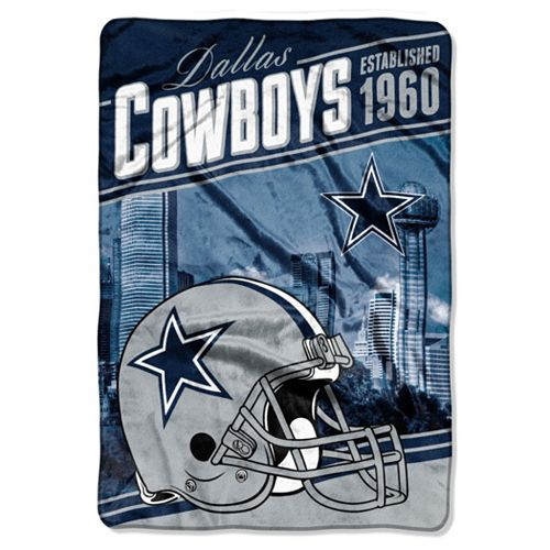 Dallas Cowboys Stagger Microfleece Oversized Throw by Northwest