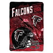 Atlanta Falcons Stagger Microfleece Oversized Throw by Northwest