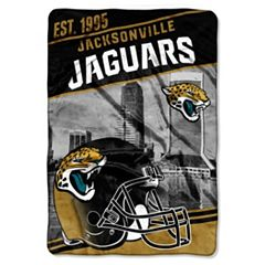 Jacksonville Jaguars Stagger Microfleece Oversized Throw by Northwest