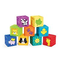 International Playthings Earlyears Squeak 'n Stack Blocks