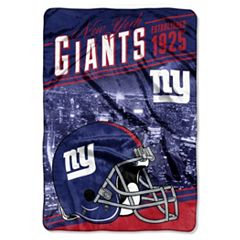 New York Giants Stagger Microfleece Oversized Throw by Northwest